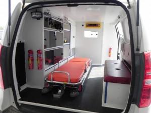 Ambulance Hyundai H1 Interior