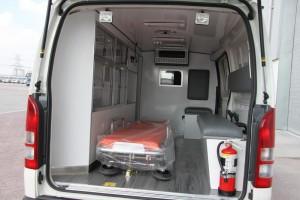 Interior Mobil Ambulance Toyota Hi Ace