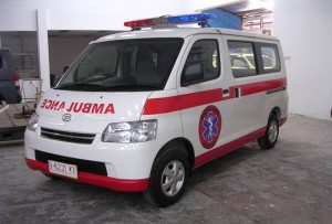 Karoseri Mobil Ambulance Grand Max