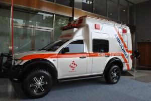 Karoseri Ambulance Mitsubishi Strada Triton