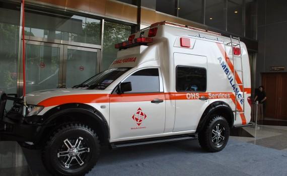 Spesifikasi Ambulance Mitsubishi Strada Triton