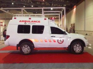 Karoseri Mobil Ambulance Mitsubishi Strada Triton