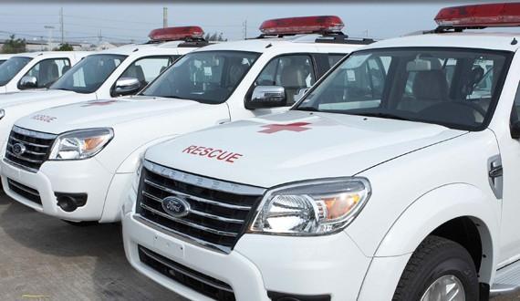 karoseri Mobil Ambulance Ford Ranger